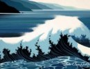 Eyvind Earle-A-Sounding-Of-Surf
