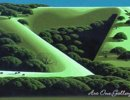 Eyvind Earle-California-Hills